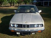 1990 BMW 325I Convertible. Body Excellent, Interior