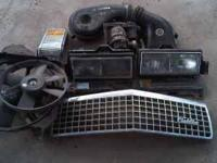 1990 Cadillac Parts, Grill $70, 120 amp Alternator $65,