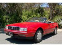 1990 Cadillac Allante Convertible Just arrived at