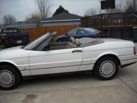 1990 Cadillac Alante Convertible ..White Paint Very