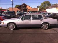 1990 Cadillac DeVille ONLY 76k Miles! Leather! One