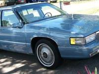 1990 Cadillac Sedan DeVille ..All Original ..Only