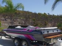 1990 Carrera 202 XR 21 Jet BoatClosed deck  Seats 8Very