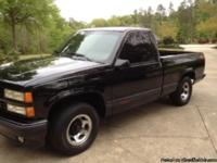 1990 Chevy SS Pick up truck. This truck is Black with