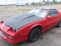 1990 Chevrolet Camaro, 158,609 odometer mileage, VIN#