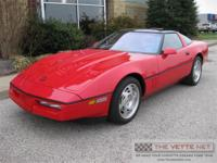 1990 Bright Red Coupe CorvetteBody Style: CoupenSpecial