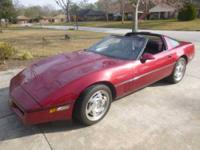 1990 Chevrolet Corvette High Performance This 1990