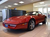 WAS $39,900. GREAT MILES 11,071! Corvette trim, red