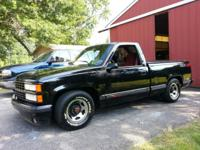 1990 CHEVROLET 454 SS PICK UP RUNS AN DRIVES GREAT 110K