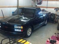 1990 Chevy 454SS pickup Pro Street, 502, auto, very