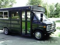 Wanting to sell my 1990 Chevy G30 19 passenger bus. Was