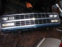 GOOD SHAPE CHROME GRILL NO CRACKS AND IT ALL COMPLET