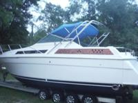 1990 32' Chris Craft American Cruiser with twin 454