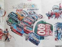 "1990 Coca-Cola 600 22"" x 34"" at Charlotte Speedway"