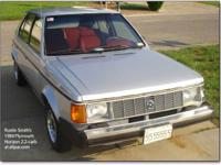 1990 Dodge Omni 4 door. This one doesn't look like much