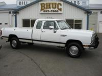 1990 Dodge Ram 2500 Club Cab 4X4 - 5.9L V8 - 4 Speed
