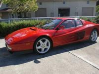 Simply sensational time-warp iconic Testarossa with
