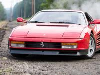 Up for sale from a private collection 1990 Ferrari