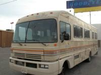 1990 FLEETWOOD BOUNDER (RECENT DEALER TRADE), 34' 2