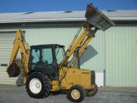 1990 Ford 655C backhoe loader 4x4 75hp 2811 hours power