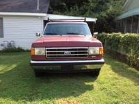 I have a maroon 1990 Ford F-150 XLT Lariat that has the
