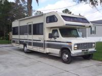 1990 Fleetwood Tioga Arrow 27 Ft. Class C RV with Ford