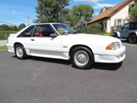 This 1-Owner 1990 Ford Mustang GT Hatchback is an