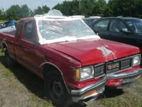 Selling parts ONLY:. 1990 GMC S15 X-CAB. 4.3 L, V6, AT,