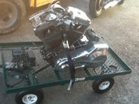 1990 HARLEY DAVIDSON DRIVE TRAIN MOTOR AND