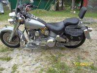First year Harley Davidson Fatboy. I have the original