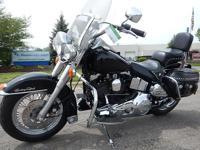 1990 Harley Davidson FLST Heritage Softail Motorcycle,