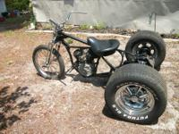 This is a 1990 Harley Davidson Sportster 883, it has