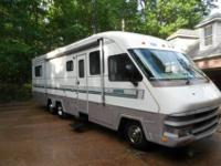 This recreational vehicle is in excellent condition