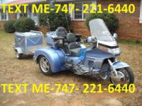 1990 Honda Gold Wing, Gold Wing with Accessories. -