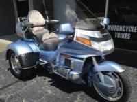 1990 Honda Goldwing GL 1500/6 Carmel Blue colorJust