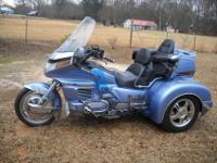 1990 HONDA GOLDWING WITH A 2007 CHAMP TRIKE CONVERSION.