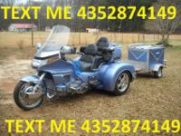 SAFgf////1990 HONDA GOLDWING WITH A 2007 CHAMPION TRIKE