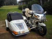 1990 HONDA goldwing with SIDECAR .. super nice...!!!