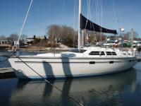 1990 Hunter Passage 42 Center Cockpit Sailboat with
