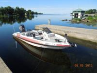 1990 Javelin Bass Boat, 19 foot with 200 HP Johnson