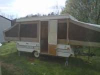 FOR SALE IS A 1990 JAYCO DELUXE EDITION POP UP CAMPER.