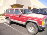1990 JEEP CHEROKEE 4 DR/2 WD - $1500 (FOUNTAIN HILLS)