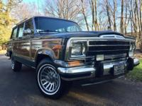 1990 Jeep Wagoneer Grand Wagoneer 360ci V-8 Charcoal