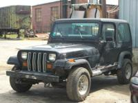 1990 Jeep Wrangler Parts. It has a 4 cyl., 2.5 liter