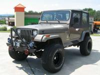 Options Included: Brush Guard, Winch, Offroad Lights,