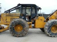 1990 JOHN DEERE 640D, Exterior: Yellow, 2 brand-new