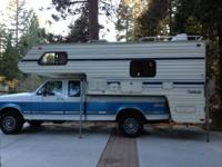 1990 Lance LC  78011.3 Cab over camper for long bed 34