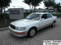 What a find! 1990 Lexus LS400 with only 134000 miles!
