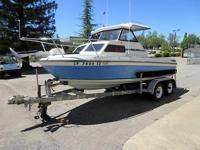 1990 Marlin 18 Foot Cuddy Cabin Boat. Hin #