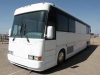 1991 MCI Canepa Design Bus Prototype VIN #: